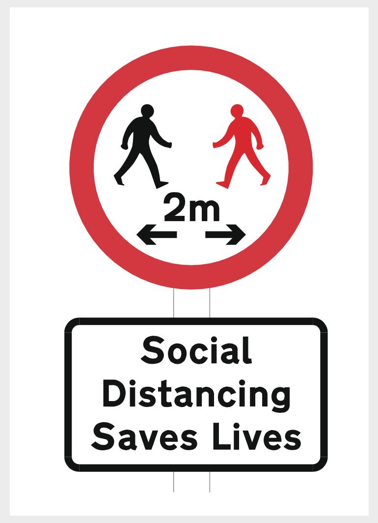 Social Distancing Saves Lives